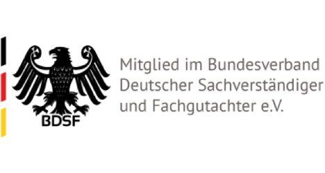 Mitglied im Bundesverband deutscher sachverstaendiger und fachgutachter